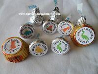 108 Personalized Dinosaur Baby Shower Birthday Party Hersheys Candy Label