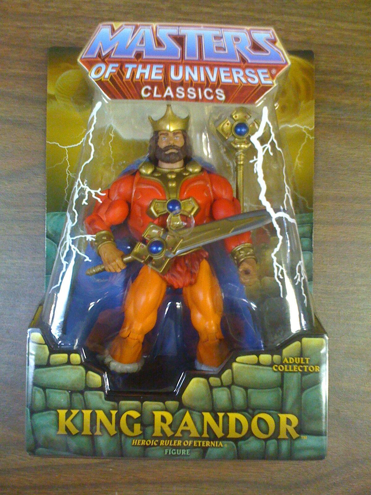 Masters del universo clásicos Mattel Rey Randor 1st impresión envíos a todo el mundo