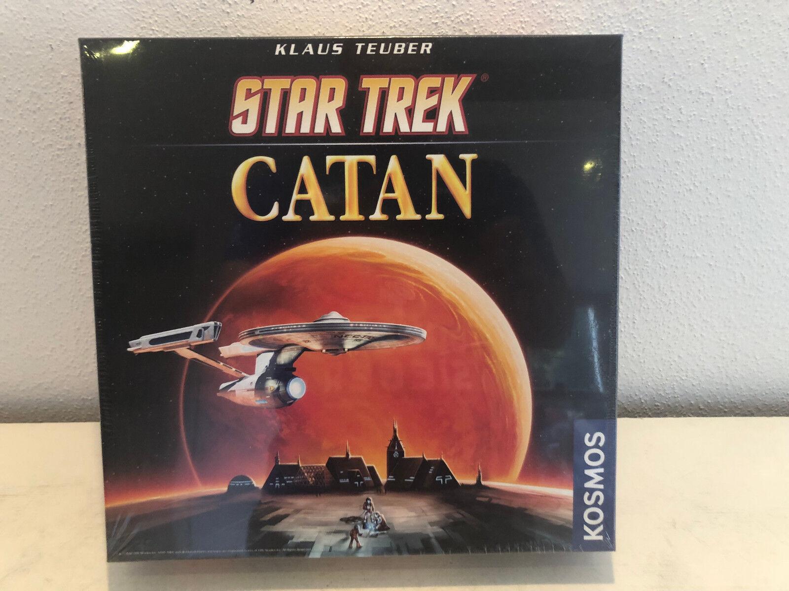Star Trek Catane de cosmos dans neuf dans sa boîte société plateau de jeu colons familles