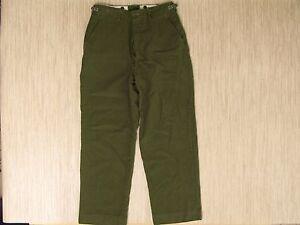 Vintage M-1951 Korean War Wool Field Pants Men s Size 33x30 Military ... 7ce3db64a94