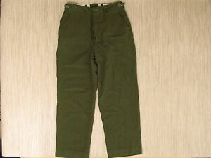 Vintage M-1951 Korean War Wool Field Pants Men s Size 33x30 Military ... 22a4734d492