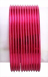 Chudi Jewelry Pink Color Ethnic Bollywood Fashion Casual Wear Metal Bangles