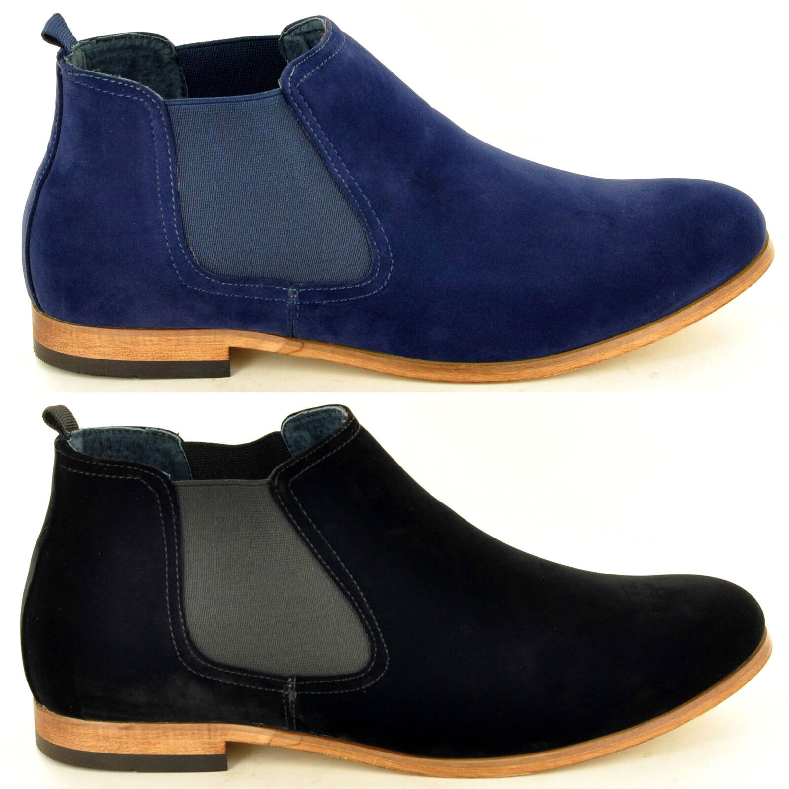 Men's Shoes Casual Faux Suede Chukka Desert Ankle Chelsea Boots Shoes Men's In UK Size 6-12 acb52b