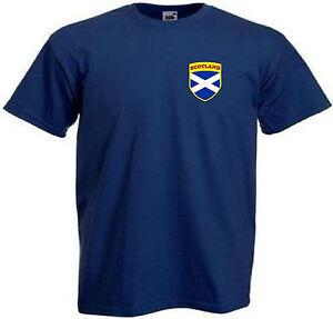 Escocia-Escoces-Nino-Nina-Infantil-Juventud-Equipo-De-Futbol-camiseta