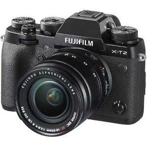 Fuji-X-T2-Digital-Camera-Black-With-18-55mm-XF-Lens-UK-Stock-BNIB