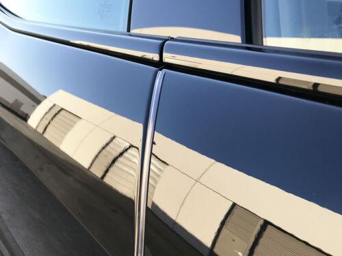 4pcs set CLEAR DOOR EDGE GUARD Protection Trim Molding Stripe for gmc