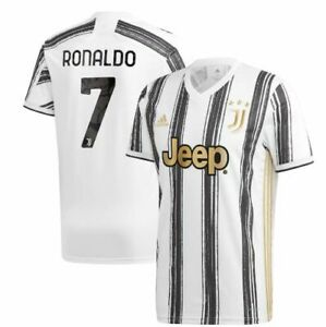 Details about adidas Juventus 2020 - 2021 C. Ronaldo # 7 Home Soccer Jersey CR7 Kids - Youth