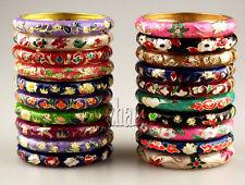Wholesale12 Pcs Chinese Handmade floral Luxurious Cloisonne Enamel Bracelet