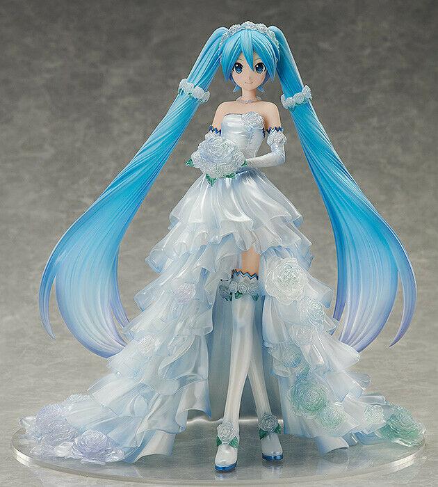 Libreing  1 7 Vocaloid Hatsune  Miku mariage Robe Ver. Scale Statue Figure USA  commander en ligne