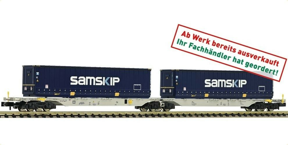 Fleischmann 825335 AAE doble armazón Cochero sggmrs samskip-contenedor KK n nuevo