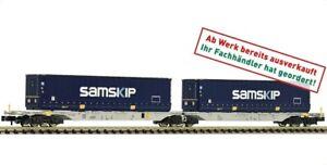 FLEISCHMANN Ladegut Container HT 5113 HANGARTNER für Containertragwagen N NEU