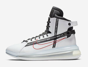 Details about 2019 Nike Air Max 720 Saturn SZ 12 Motorsport NASA White Red SATRN AO2110 100