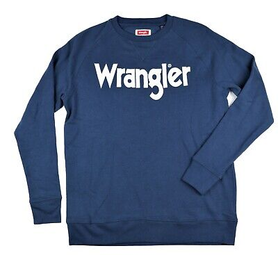 L Wrangler Sweatshirt Crew Neck Men/'s Size M