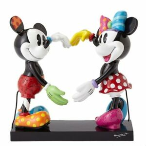 Disney-Mickey-Mouse-and-Minnie-Mouse-Statue-by-Romero-Britto-Heart-4055228-NIB