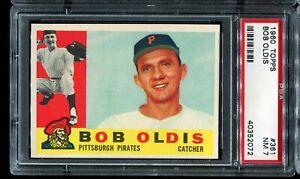 1960-Topps-Baseball-361-BOB-OLDIS-Pittsburgh-Pirates-PSA-7-NM