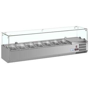 vrx 330 1800 mm gastronorm salad preperation bar counter. Black Bedroom Furniture Sets. Home Design Ideas