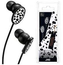 NEW JVC Stereo Earbuds Headphones Iphone ipod MP3 Dalmatian  1-Year Warr HA-FXP3