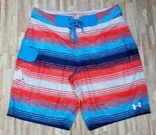 c63a54526b item 5 Under Armour Storm 1 HeatGear Swim Trunks Board Shorts ~ Men's Size  34 ~ Blue -Under Armour Storm 1 HeatGear Swim Trunks Board Shorts ~ Men's  Size 34 ...
