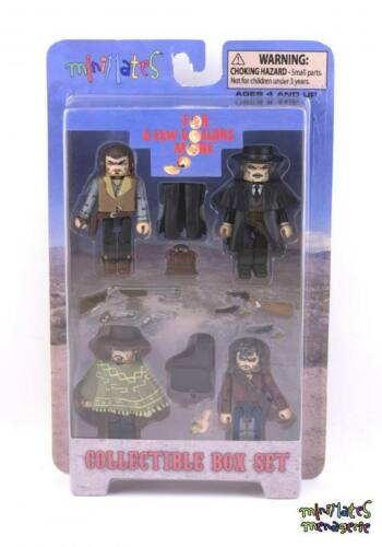 Minimates For a Few Dollars More Box Set Spaghetti Western Clint Eastwood