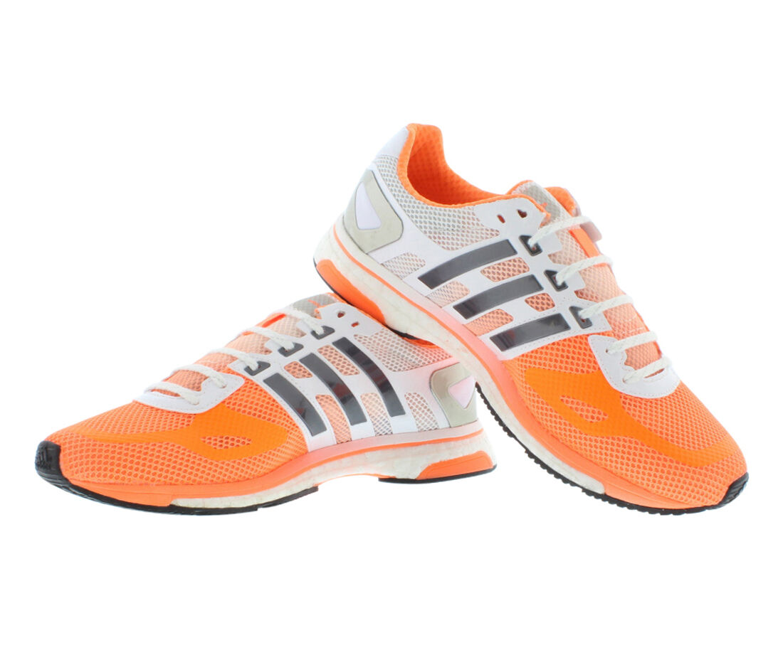 Zapatos promocionales para hombres y mujeres ADIDAS ADIZERO ADIOS BOOST W DAMEN LAUFSCHUHE JOGGINGSCHUHE M22914 NEU & OVP
