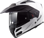 LS2-FF324-METRO-EVO-DUAL-VISOR-FLIP-FRONT-MOTORBIKE-ADVENTURE-HELMET-GLOSS-WHITE thumbnail 2
