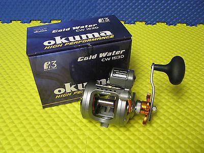 Okuma Cold Water Linecounter Reel 2+1BB 5.1:1 18lb//230yd RH CW-203D