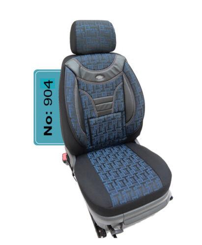 VW TOUAREG MAß Schonbezüge Sitzbezüge für Fahrer und Beifahrer