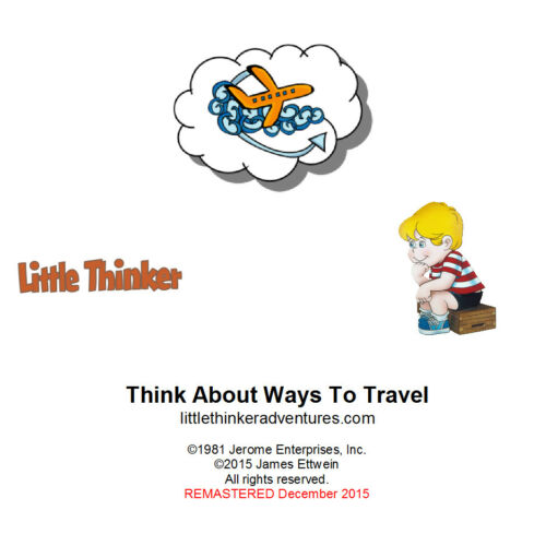 Think About Ways To Travel Little Thinker New CD remastered from cassette