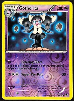 Pokemon Gothorita 46//98 B/&W Emerging Powers REVERSE HOLO MINT