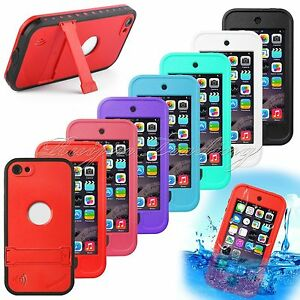 purchase cheap aa317 b3e1c Details about WATERPROOF SHOCKPROOF CASE FOR IPOD TOUCH 5 / 6 [FITS  LIFEPROOF & OTTERBOX CLIP]