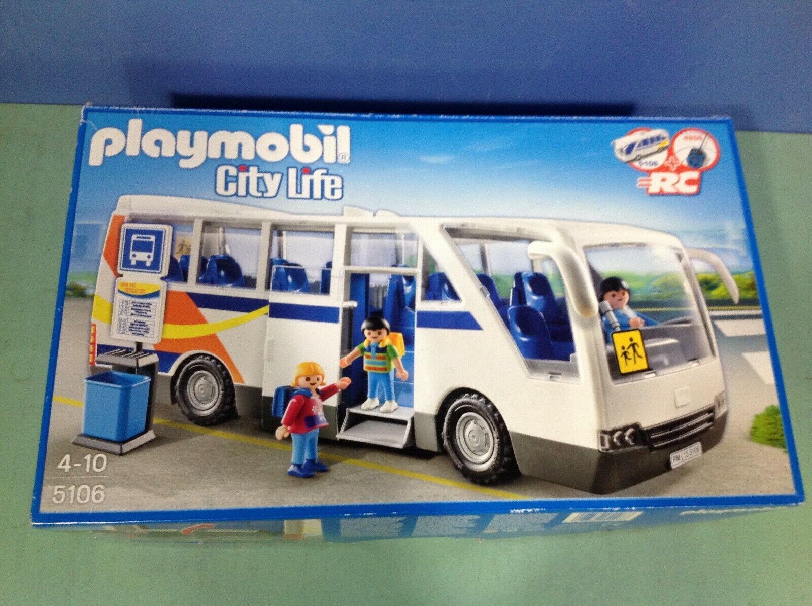 (O5106) Jugarmobil bus city ref 5106 en boite complète