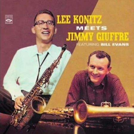 Lee Konitz Meets Jimmy Giuffre featuring Bill Evans (CD)