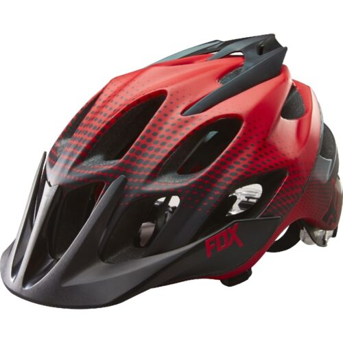 Fox Racing Flux Helmet Race Black//Red