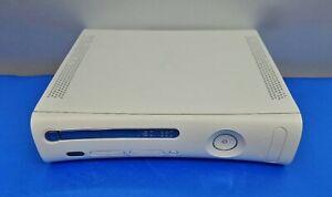 Adroit Consola Microsoft Xbox 360 Blanco Original Usb Hdmi Faulty Para Piezas Nombreux Dans La VariéTé