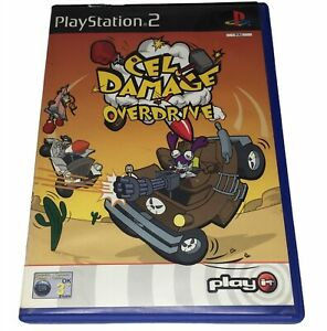 Cel DAMAGE OVERDRIVE Playstation 2 dos PS2 incluso Manual