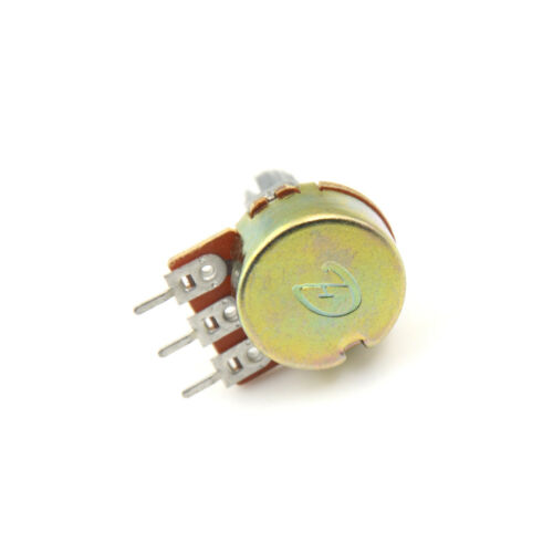 5pcs B200K B204 ohm Single Linear Taper Rotary Potentiometers InFT