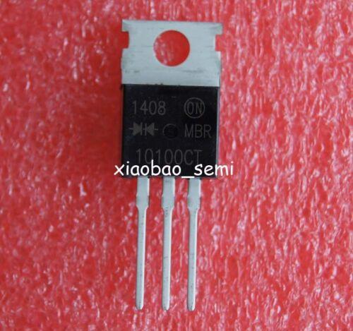 15pcs mbr10100 mbr10100ct Power Rectifier To-220 sobre