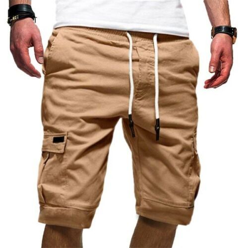 Cargo Shorts Men Summer Casual Pocket Shorts Men Joggers Military Short Trousers