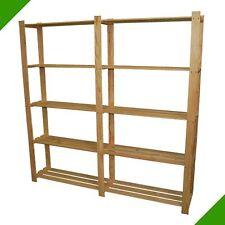 Scaffale in legno 170x170x28 5 RIPIANI SCAFFALE CANTINA magazzino SCAFFALATURA LIBRERIA cartella Scaffale Legno