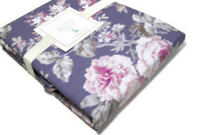 Pottery-Barn-Kids-Multi-Colors-Organic-Cotton-Yvette-Floral-Twin-Duvet-Cover-New