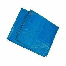 6x9 12x8 30x20 TARPAULIN GARDEN WATERPROOF COVERING SHEET BLUE GREEN 8x10
