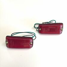 NEW Rear Side Marker Lights (LH & RH) - OEM - Suzuki Samurai 86-95    ATL,GA
