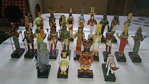 Statuettes Dieux Et Déesses D Egypte