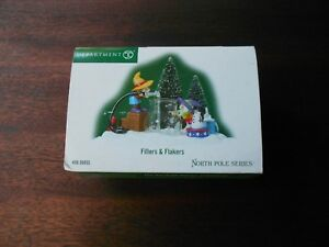 DEPT-56-NORTH-POLE-VILLAGE-Accessory-FILLERS-amp-FLAKERS-NIB