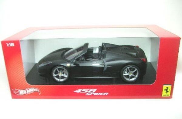 Ferrari 458 Spider ( nero Mate