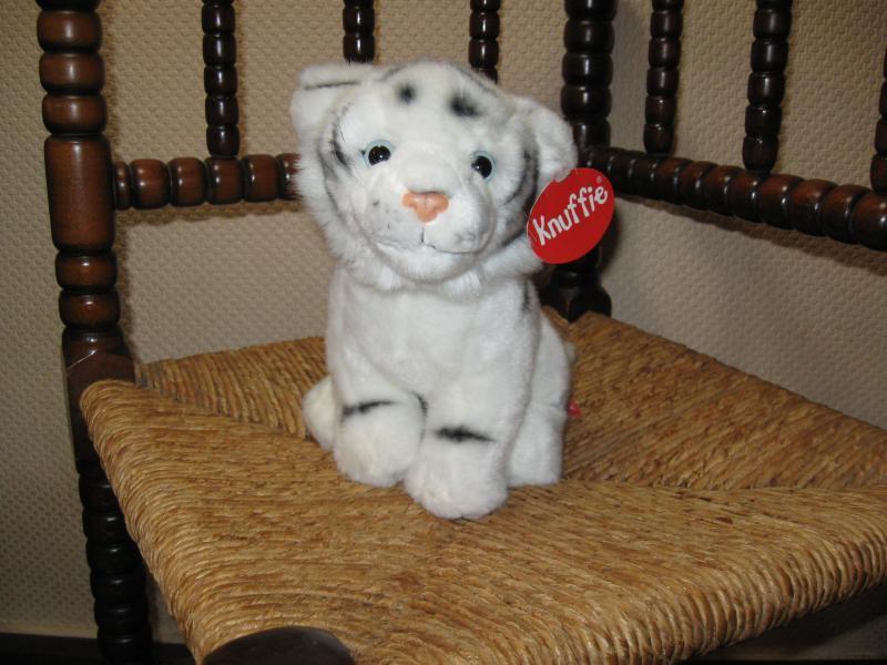 Dutch Weiß Bengal Tiger Cub Plush Knuffie Shop Service Center NEW