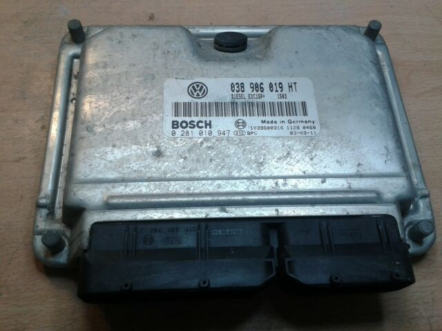 VW  tdi ecu immo off/ removed 038906019HT 0281010947 EDC15P+ 038 906 019 HT