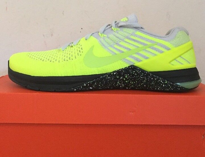 NIKE METCON DSX FLYKNIT MSRP  160 training train gym shoes Volt 852930-701