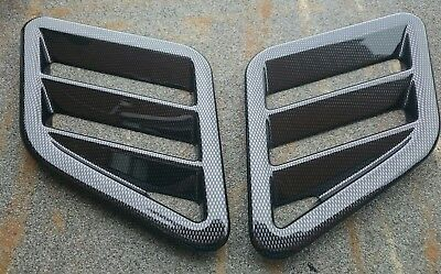 FOCUS RS MK3 LATEST STYLE BONNET VENTS PAPER FITTING TEMPLATES//CUTTING GUIDES