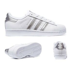 Adidas Superstar II plata